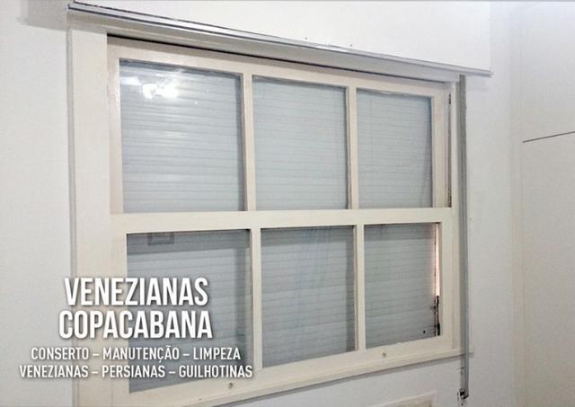 Venezianas copacabana - conserto persianas e guilhotinas
