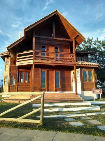 Casa de madeira de luxo em até 120 dias!!! faça sua casa