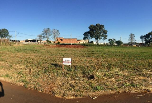 Terreno em st. terezinha de itaipu com 337 m² - com toda