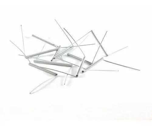 50 mola de arame p/ gaiola artesanato aço galvanizado