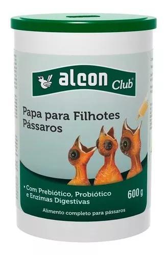 Alcon club papa filhote passáro 600g