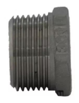 Bucha de redução 1/4''x1/8'' sextavada inox 304 bsp 4pçs