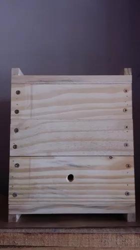 Caixas para abelha uruçu grossa