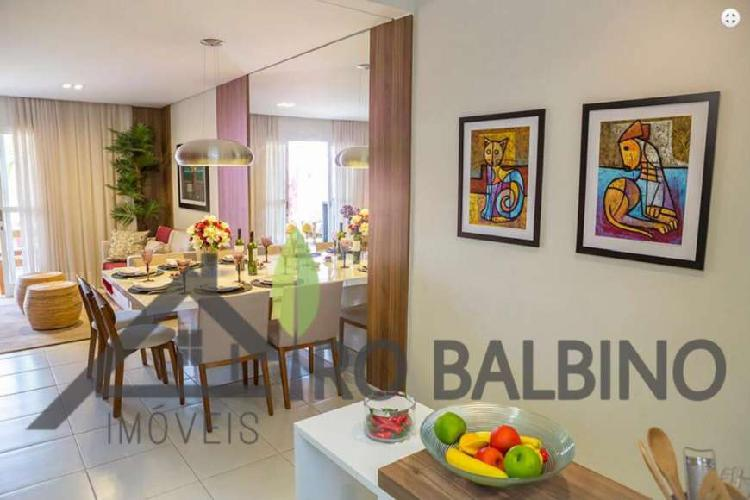 Casa de condomínio com 3 quartos à venda, 111 m² por r$