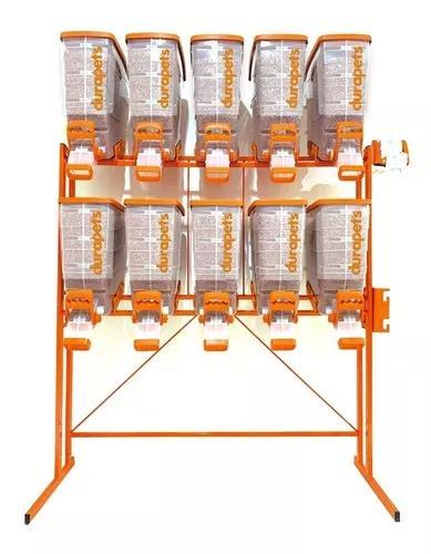 Durabox dispenser porta rações durapets display 10