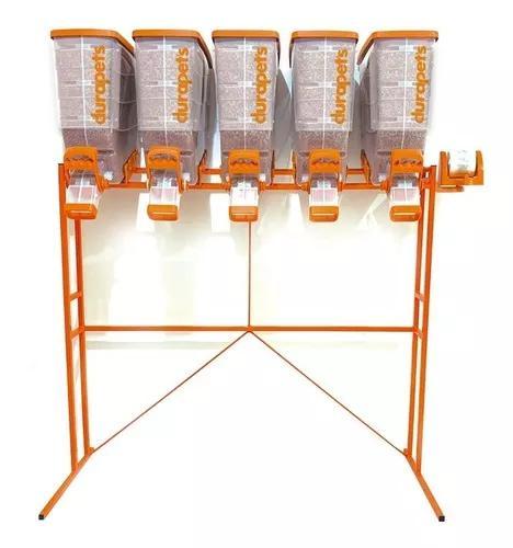 Durabox dispenser porta rações durapets display 5