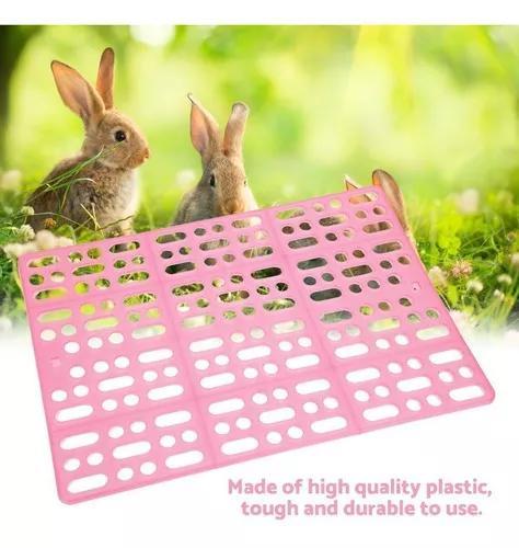 Durável coelho gaiola esteira fácil para limpo ninho almof