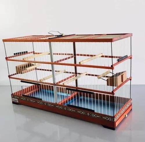 Gaiola criadeira voadeira coleiro canário belga fibra