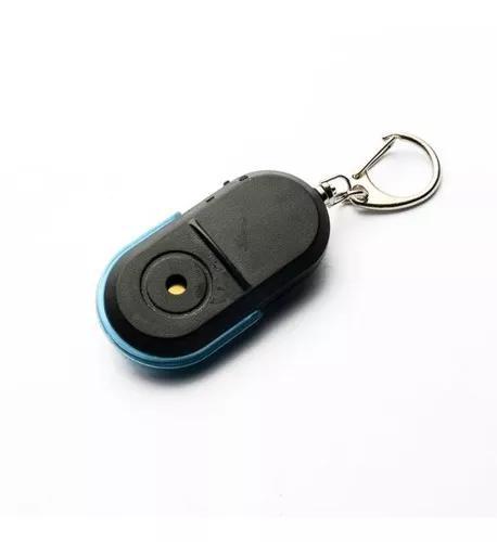 Led iluminado detetor anti assobio sensor assobio keychain i