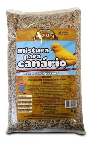 Mistura para canário clássica 10kg