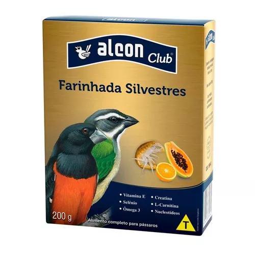 Ração alcon pássaros farinhada frutas e insetos - 200g