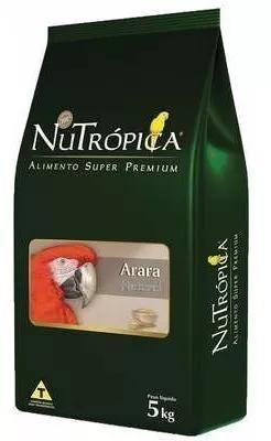 Ração nutrópica® arara natural 5kg