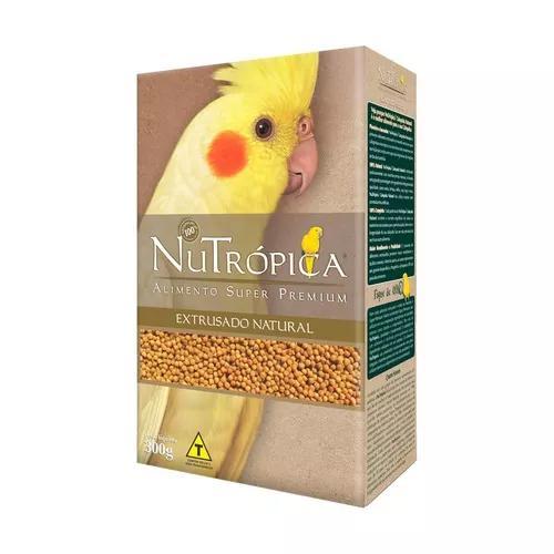 Ração nutrópica natural para calopsita - 300g