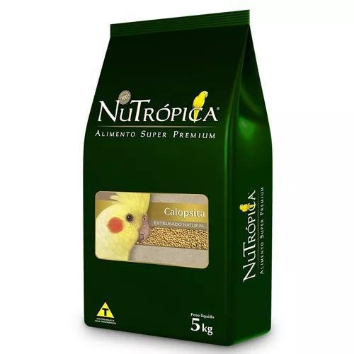 Ração Nutrópica Natural Para Calopsita - 5 Kg