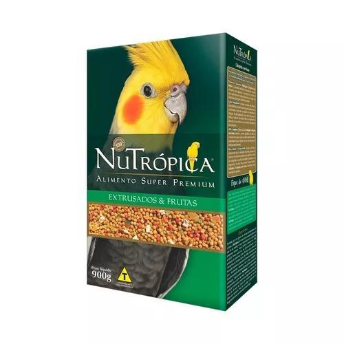 Ração Nutrópica Para Calopsita Sabor Frutas - 900g