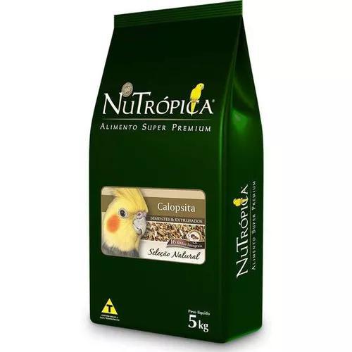 Ração nutrópica seleção natural para calopsita - 5kg