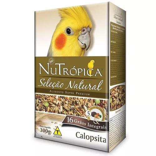 Ração nutrópica seleção natural para calopsita - 900g