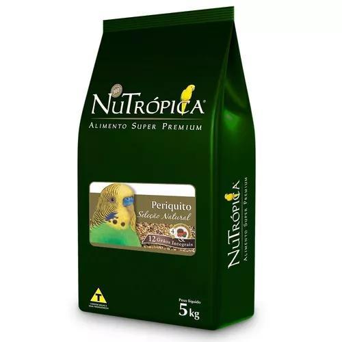 Ração nutrópica seleção natural para periquito - 300g -