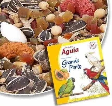 Ração pássaros mistura frutas papagaio 5 kg fracionada