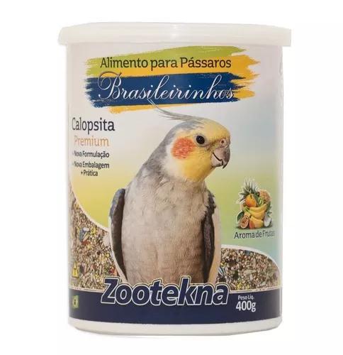 Ração zootekna para calopsita brasileirinho 400g