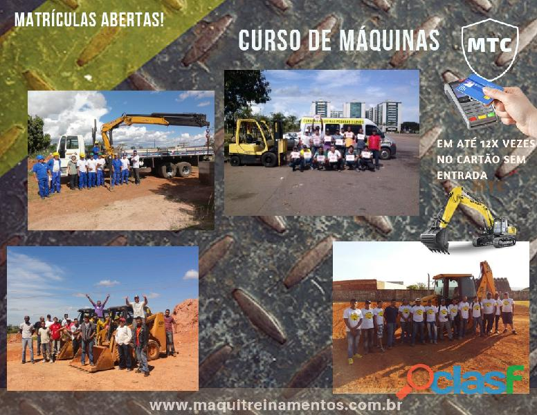 Curso de máquinas pesadas brasília df