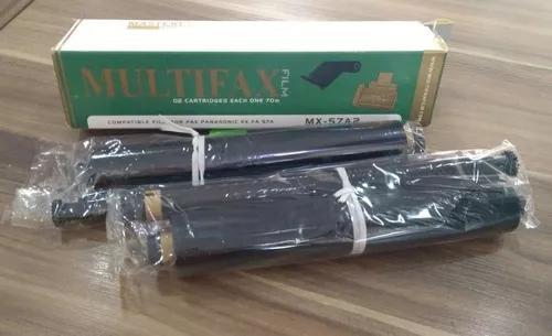 02 cartuchos para fax panasonic mx-57a2, com 02 rolos 50m