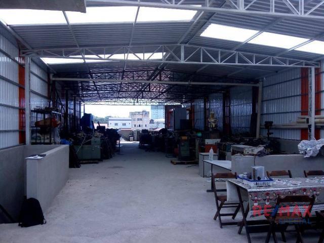 Salão industrial para locação, vila moreira, guarulhos.