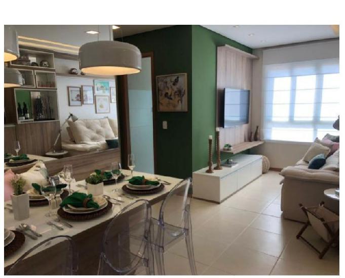 Aparatamentos de 02 quartos de até 54 m² em vista alegre-