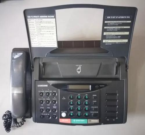 Aparelho telefone e fax samsung fx 800
