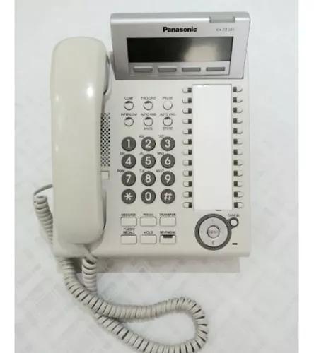 Aparelho telefonico ks panasonic kx-td343