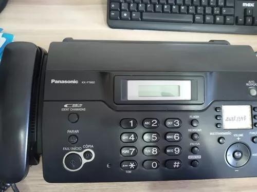 Aparelhos de fax kx-ft932 c/3 un. somente retira