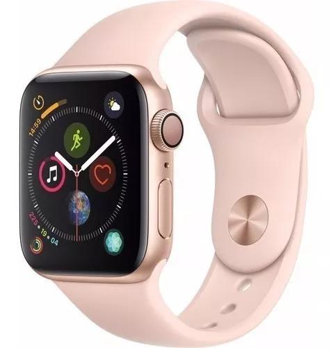 Apple Watch Series 4 Gps 40mm Sport/nike Varias Cor Nfe 12x