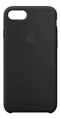 Capinha capa case silicone iphone 7 plus 8 plus aveludada
