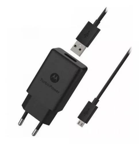 Carregador turbo power 15w motorola micro usb-b v8 (sc-28)