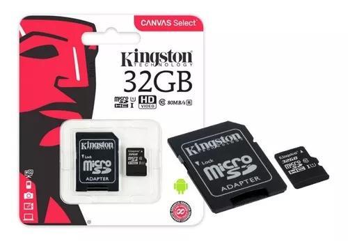 Cartão micro sd ultra 32gb 80mb/s classe 10 lacrado