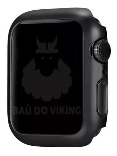Case bumper rigido milanese para apple watch 38 40mm 42 44mm