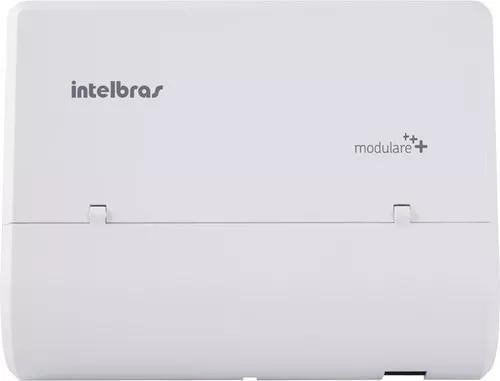 Central pabx intelbras modulare mais 02 linhas 12 ramais