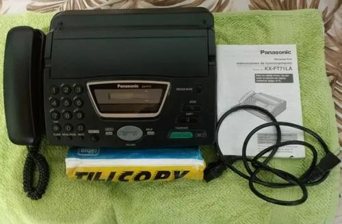 Fax panasonic modelo kx-ft71la