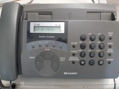 Fax sharp conservado e funcionando perfeitamente.