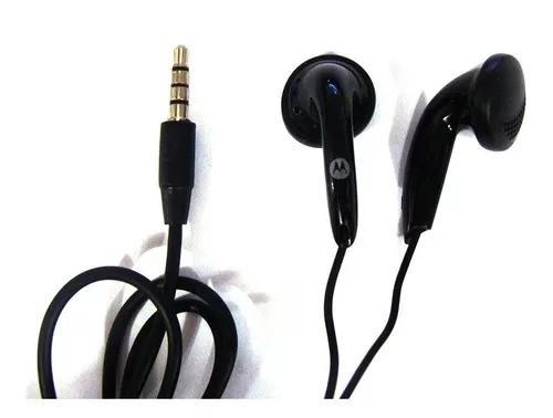 Fone de ouvido motorola preto ou branco
