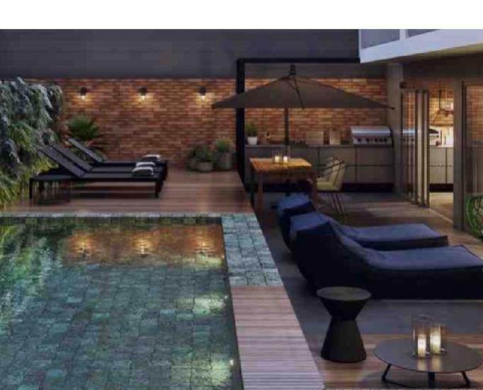 Hub co-living-estúdios de 1 2 qts 33-45m² rua das marrecas