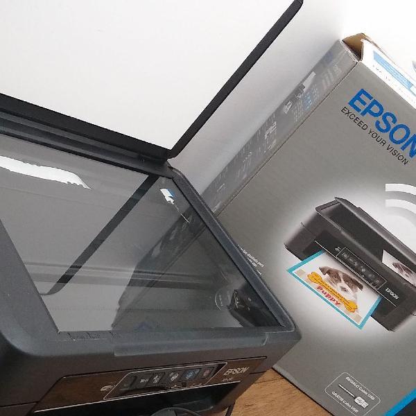 Impressora Cartucho Da Epson Xp-241 Com Wi-fi, Usb E Scanner