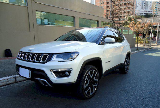 Jeep Compass Limited Ano 2018 Diesel 4x4 Top de Linha