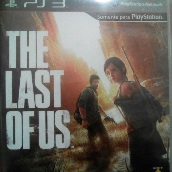 Jogo the last of us para ps3