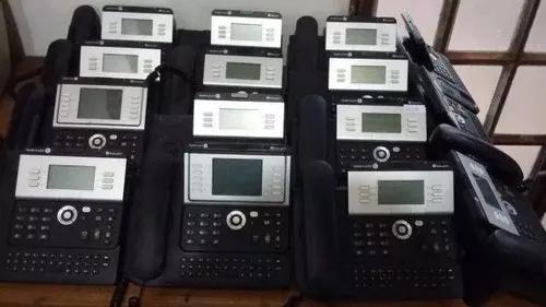 Lote 20 aparelos ip alcatel 4029 leia o anuncio