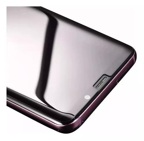 Película vidro cola líquida luz note 8 9 10 s8 9 10 plus