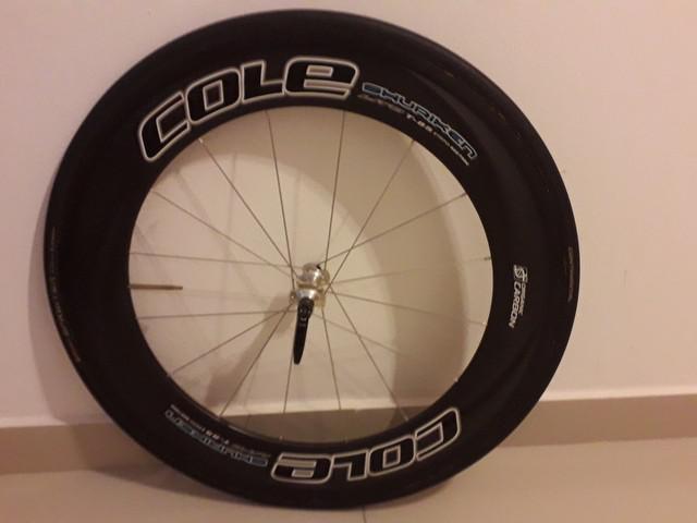 Roda Dianteira Tubular Cole Carbon