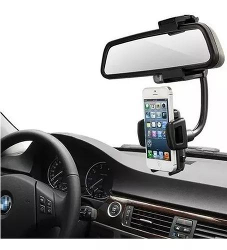 Suporte veicular retrovisor carro celular smartphone gps