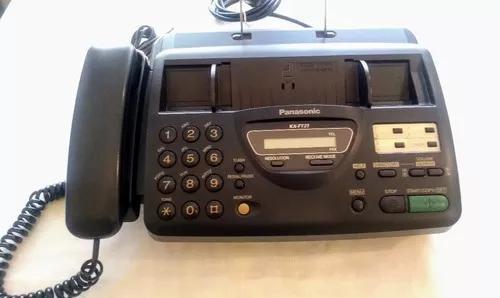 Telefone fax panasonic kx-ft21