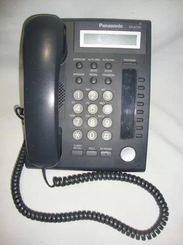 Telefone panasonic kx dt321 - usado funcionando